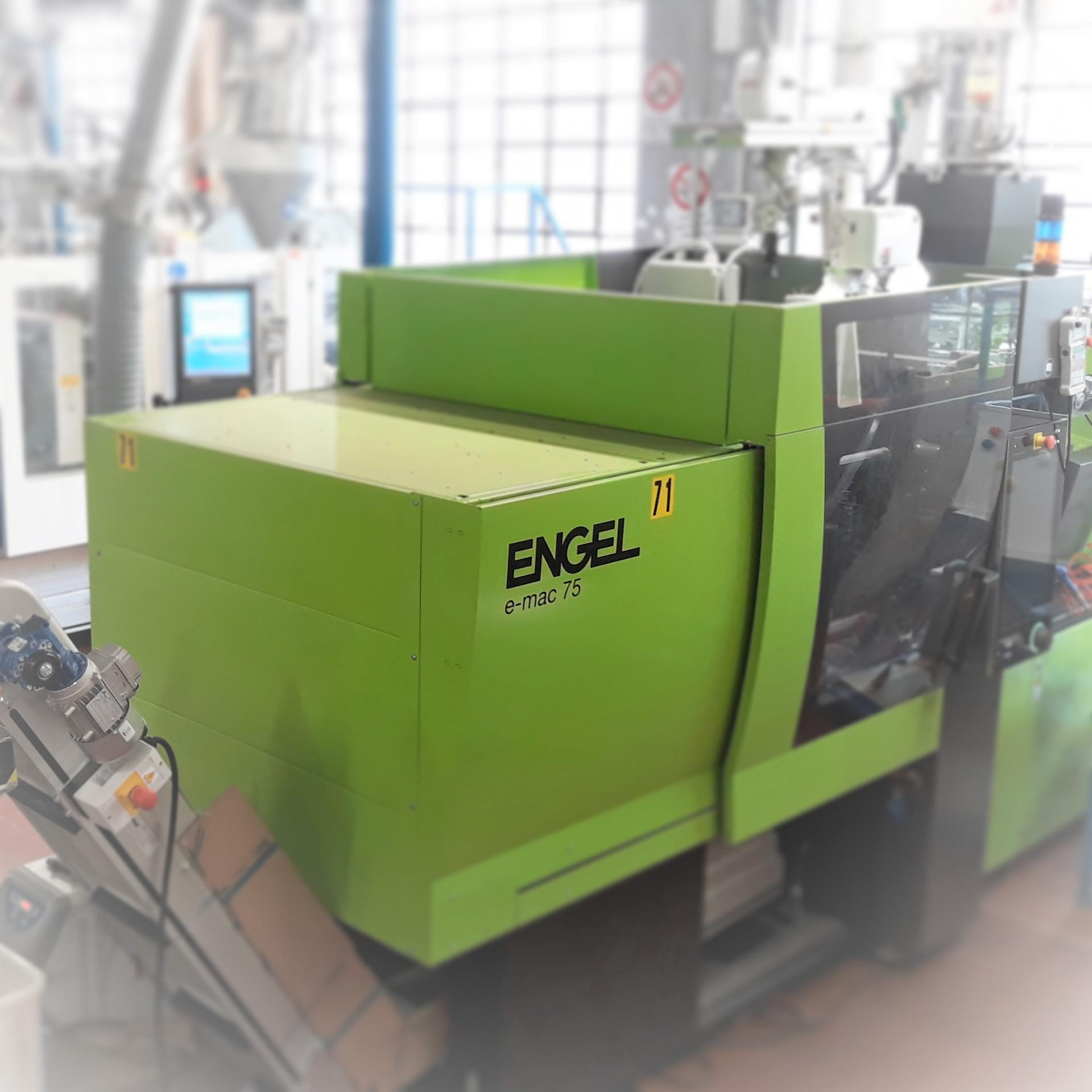 2 injection molding machines Engel