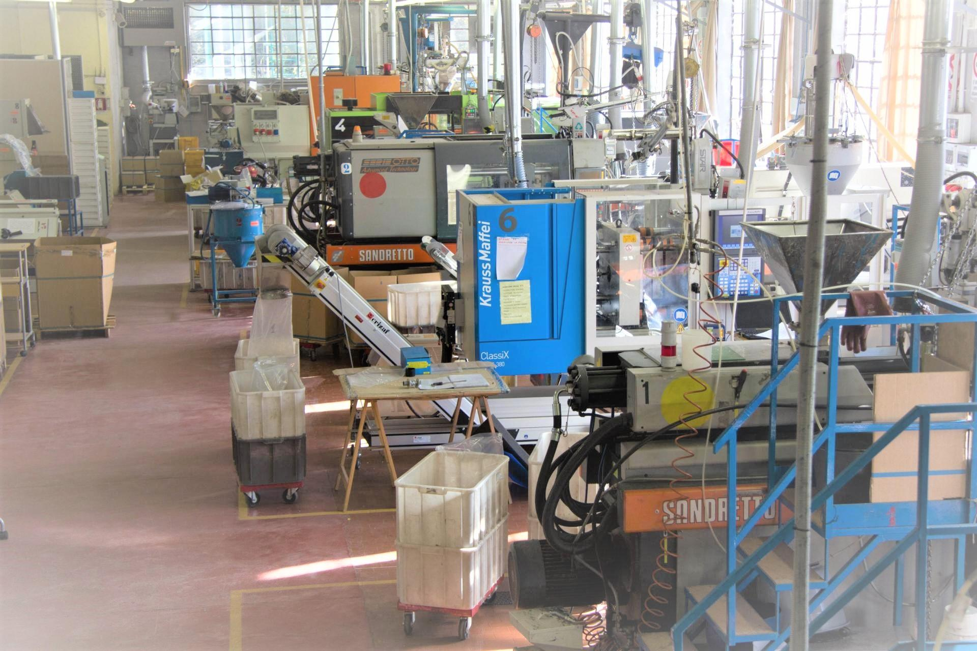 Injection molding department atp