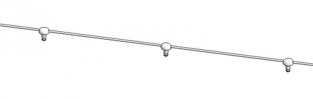 corda perno bottone effetto onda wave tende interne tendaggi interno button spacer cords cord wave effect inernal curtains passo distanza spacing distance 60 80 6 8